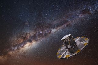 gaia and the milky way