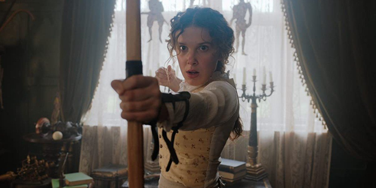 Enola Holmes' Millie Bobby Brown Explains The Netflix Film's Last Line And Why It Makes Her Think Of Stranger Things