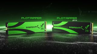 Sabren Plotripper and Plotripper Pro SSDs