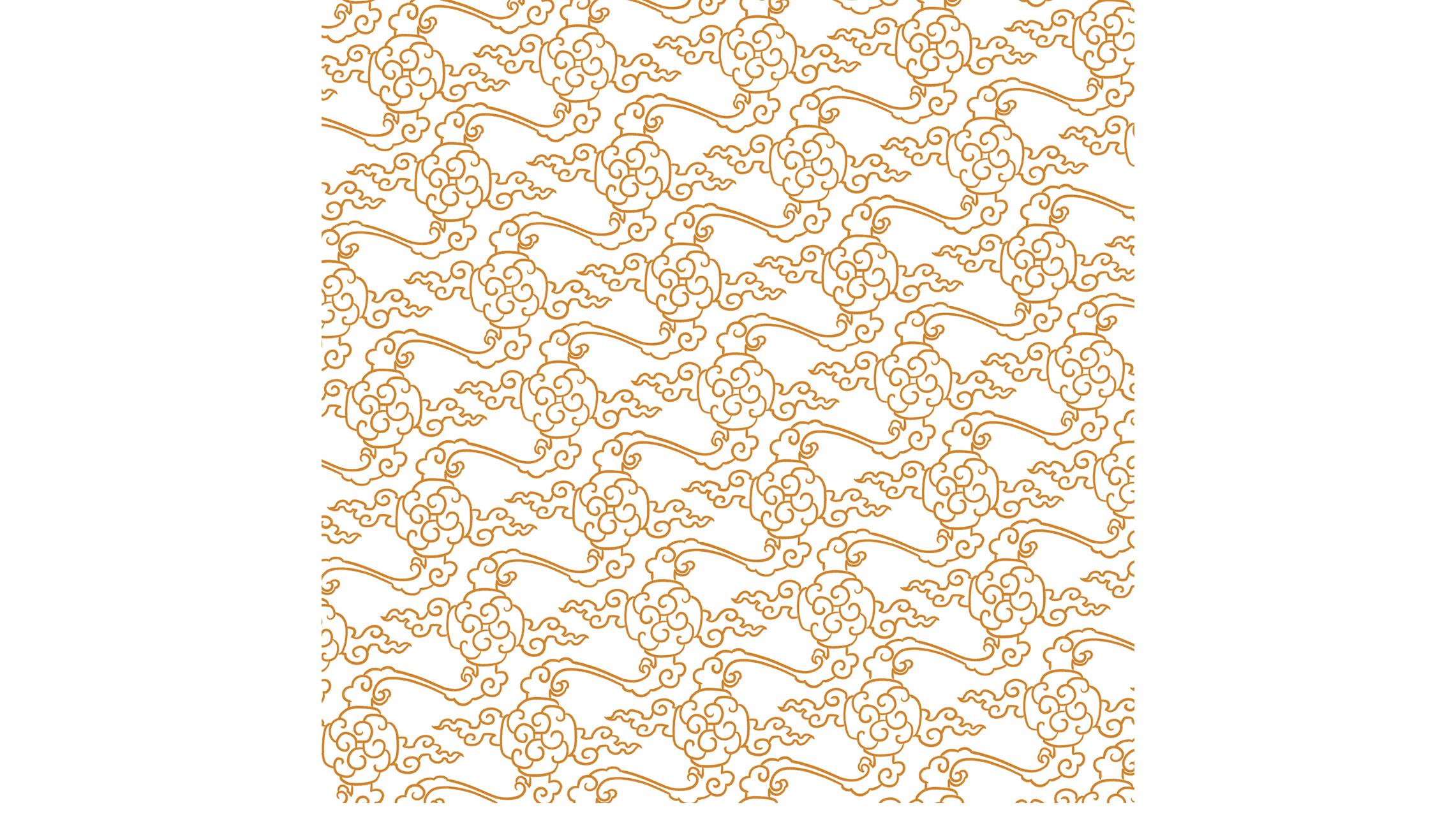 Chinese textile pattern