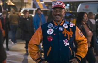 Eddie Murphy in New York in 'Coming 2 America.'
