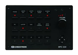 Crestron MP Pushbutton Control Panels Now Available