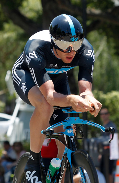 Ian Stannard, Tour of California 2011, stage 6 ITT