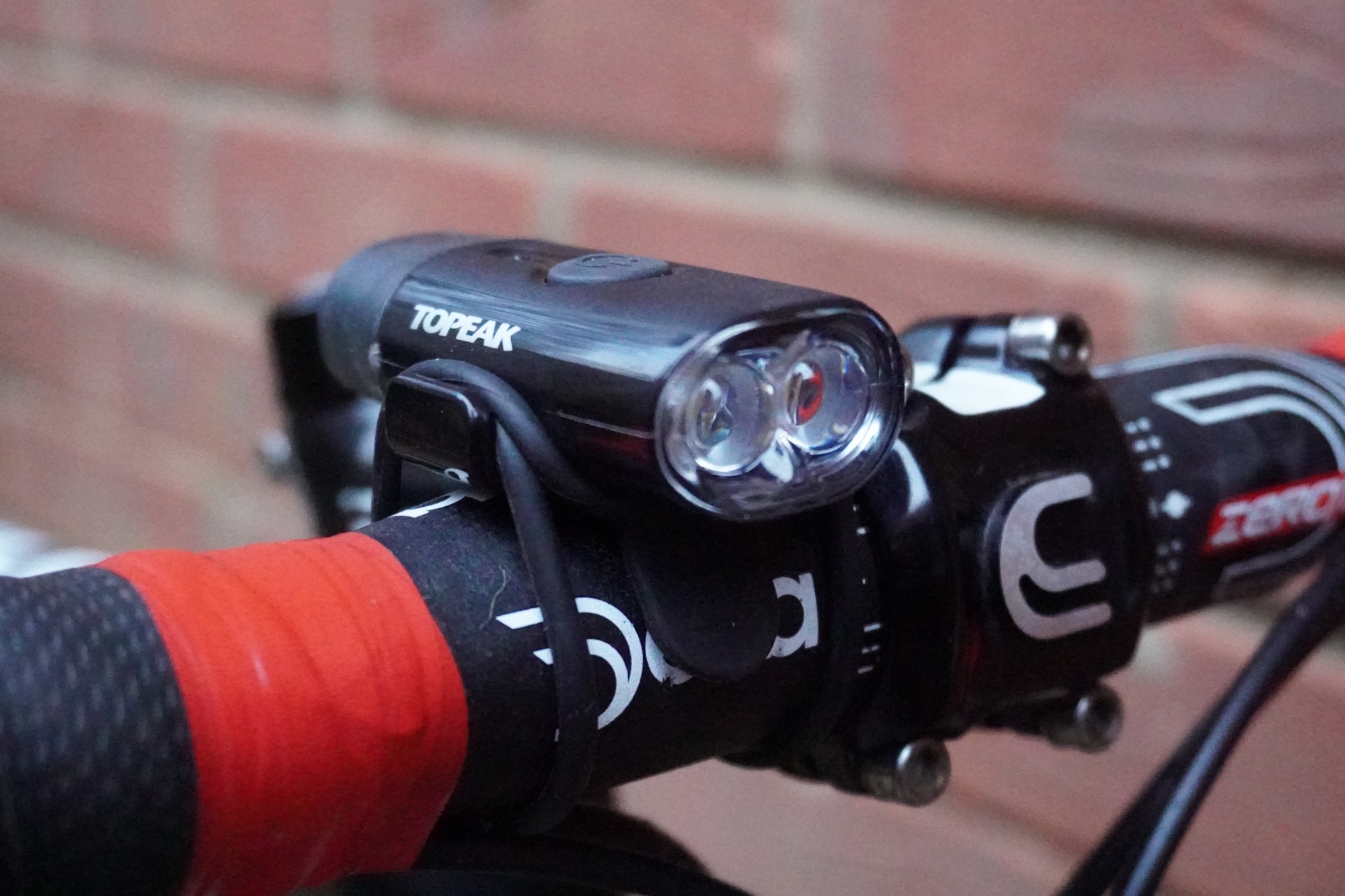 Topeak Power Lux USB Combo front and rear bike lights