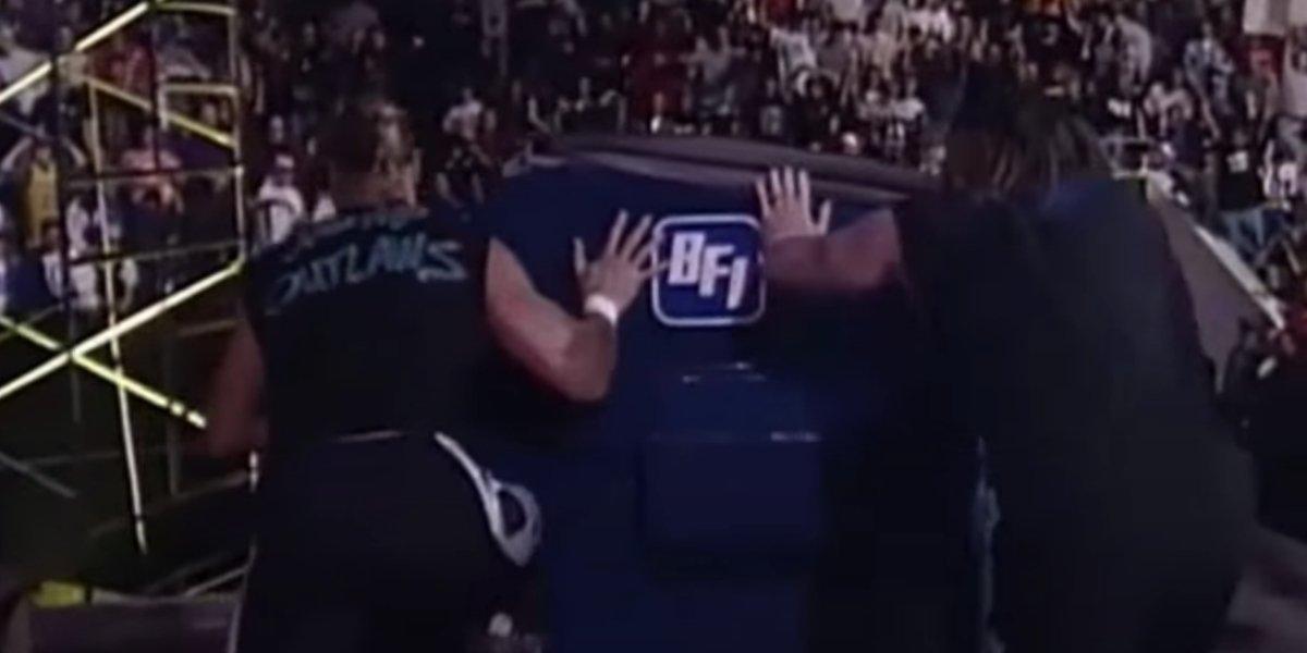 Billy Gunn and Jesse James on Monday Night Raw