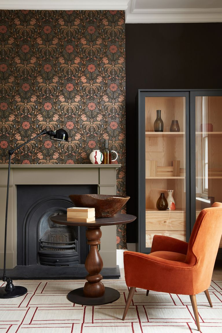 Arts & Crafts ideas Little Greene London New Bond Street wallpaper