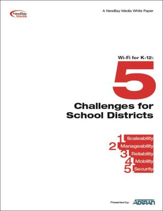 Wi-Fi for K-12: Five Challenges for School Districts