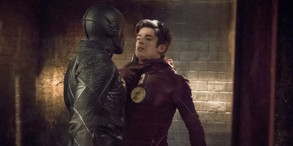 Zoom and Grant Gustin's Flash in CW series