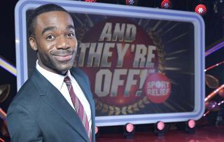 Ore Oduba: 'It's really funny when celebrities make a meal of it on And They're Off!'