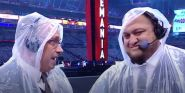 WrestleMania 37's Rain Delay Gave Fans An All-Time Bad Joke And An Unexpected Benefit