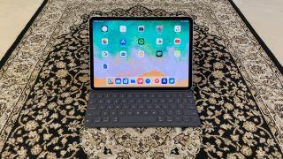 iPad Pro näppäimistökuoren kanssa