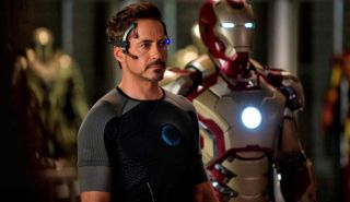 "Robert Downey Jr. in ""Iron Man 3."""