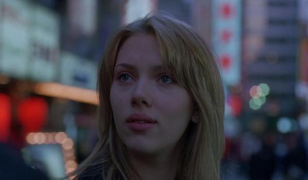 Scarlett Johannson in Lost in Translation