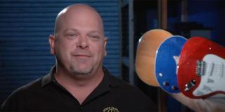 Rick being interview on Pawn Stars