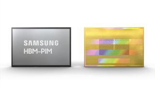HBM-PIM chip