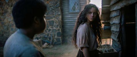 Kiana Madeira as Sarah Fier in 'Fear Street Part 3: 1666.'