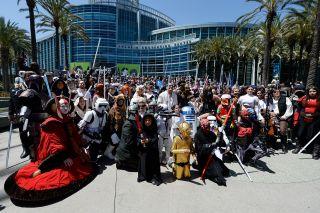 Fans at 2017 Star Wars Celebration convention