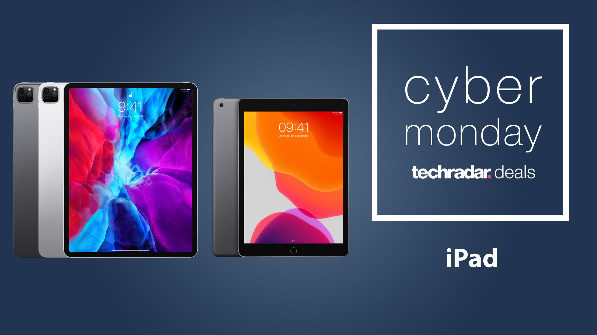 Cyber Monday Ipad Deals 2020 Expected Savings On Ipad Pro Air Mini Ranges Techradar
