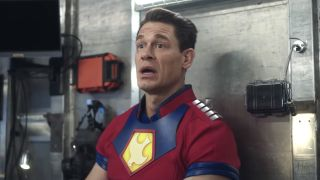 John Cena as Peacemaker in HBO Max's Peacemaker show