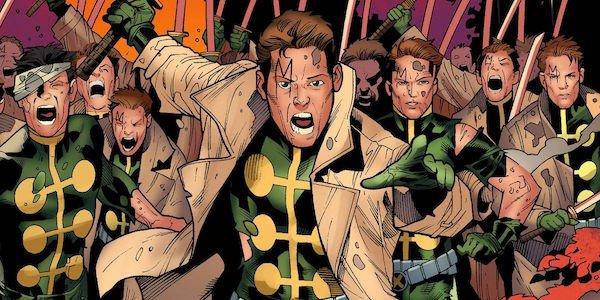 Multiple Man and his clones in X-Men comics
