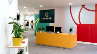 Culture Trip's modern offices needed a modern audio system; integration firm Flipside delivered.
