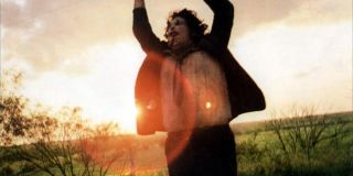 Leatherface in Texas Chainsaw Massacre