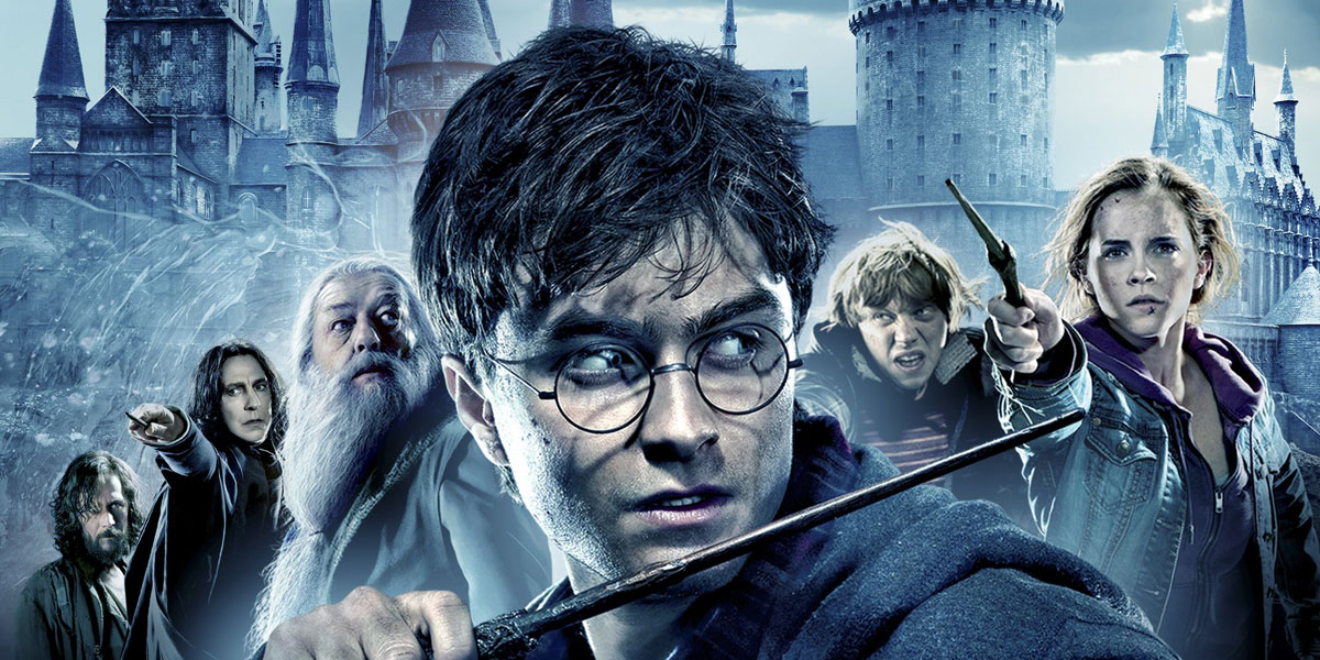 Harry Potter and the Deathly Hallows final movie starring Daniel Radcliffe