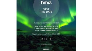 Nokia event September 2020