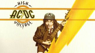 The cover of AC/DC's debut album High Voltage