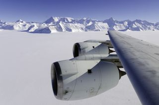 NASA IceBridge, Antarctica