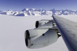 NASA IceBridge, Antarctica