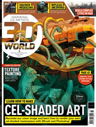Master comic art with issue 244 of 3D World   Creative Bloq
