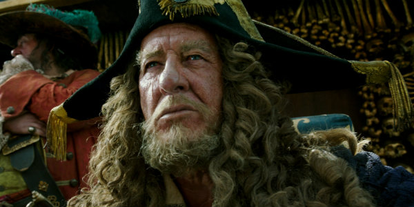 Geoffrey Rush Pirates of the Caribbean