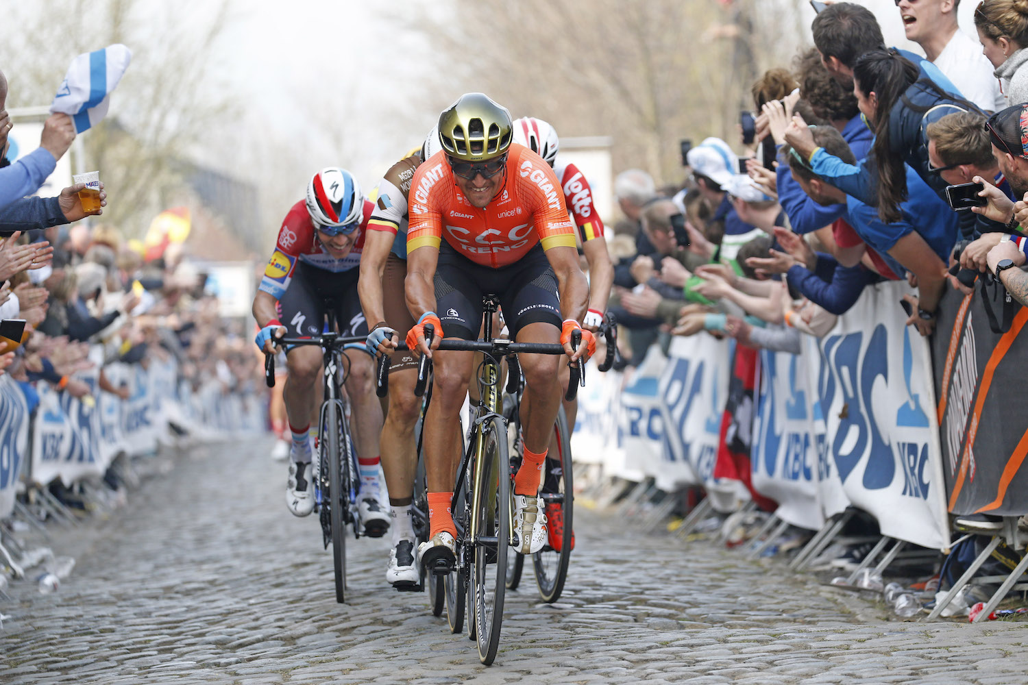 Greg Van Avermaet: 'It's not my job to pull the fast guys to the line & let them win Flanders'