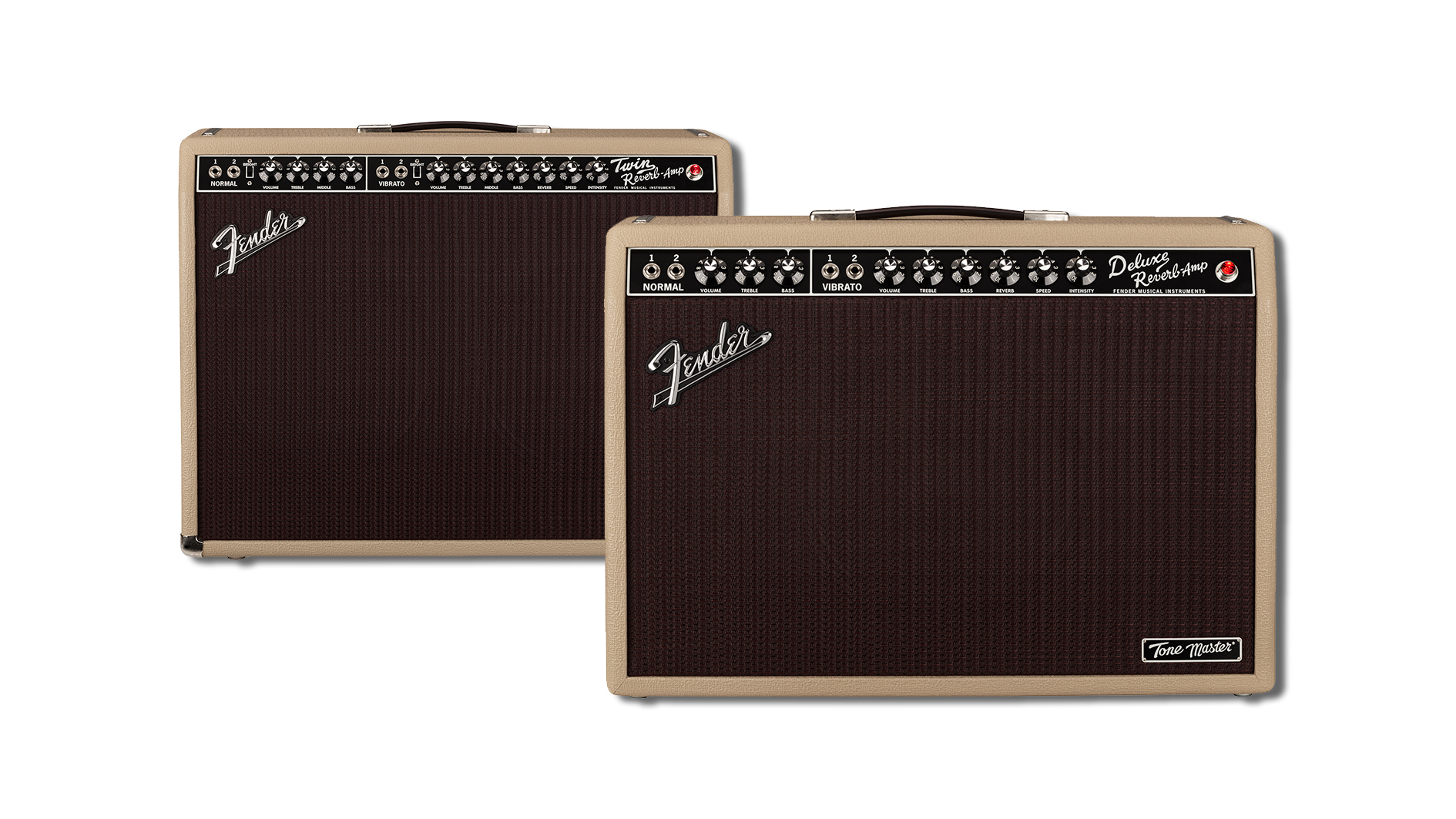 Fender extends its Tone Master amp range with all-new Blonde finishes