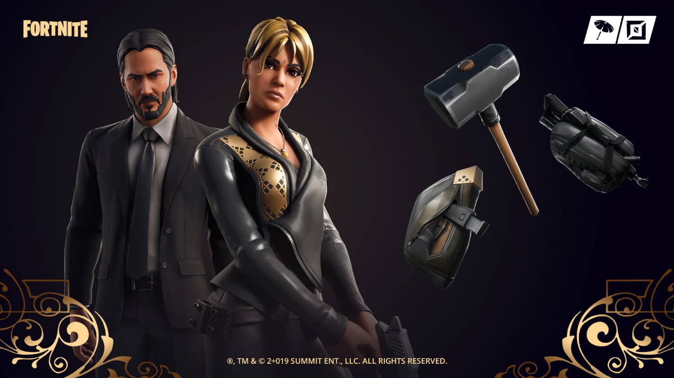 Halle Berry comes to Fortnite with a new John Wick-themed