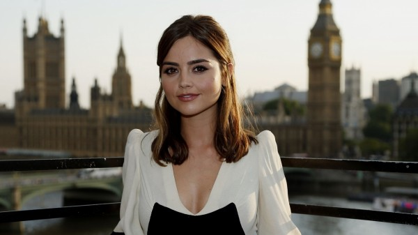 A picture of Jenna Coleman at a photocall