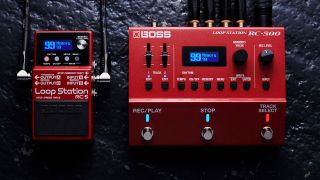 Boss RC-5 and RC-500