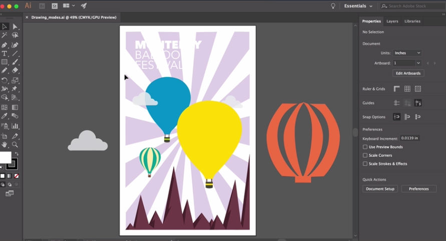 Illustrator tutorials: create artwork