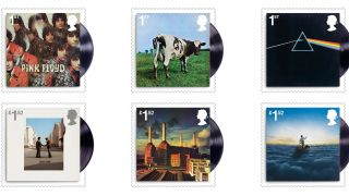 Pink Floyd stamp collection 2016
