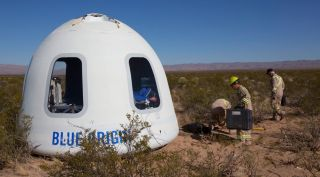 NASA's Flight Opportunities program is already flying experiments on Blue Origin's New Shepard vehicle, but researchers and companies alike want NASA to also fund experiments with people on board.