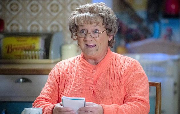 Brendan O'Carroll as creation Mrs Brown