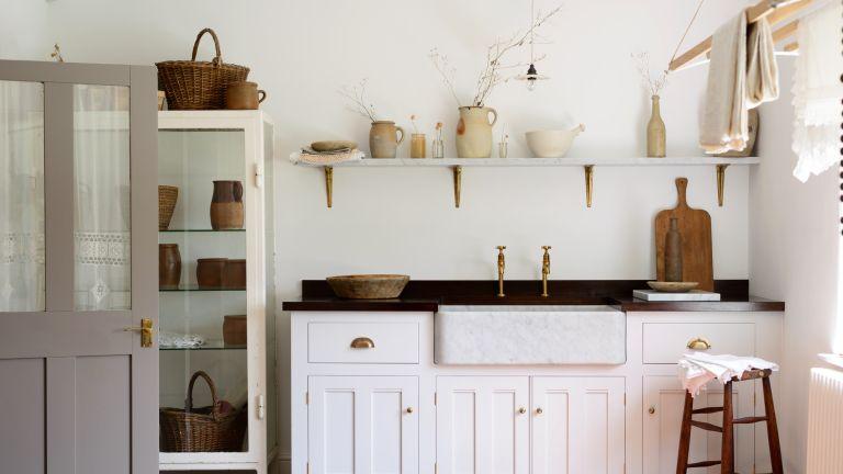 White country kitchen by deVOL