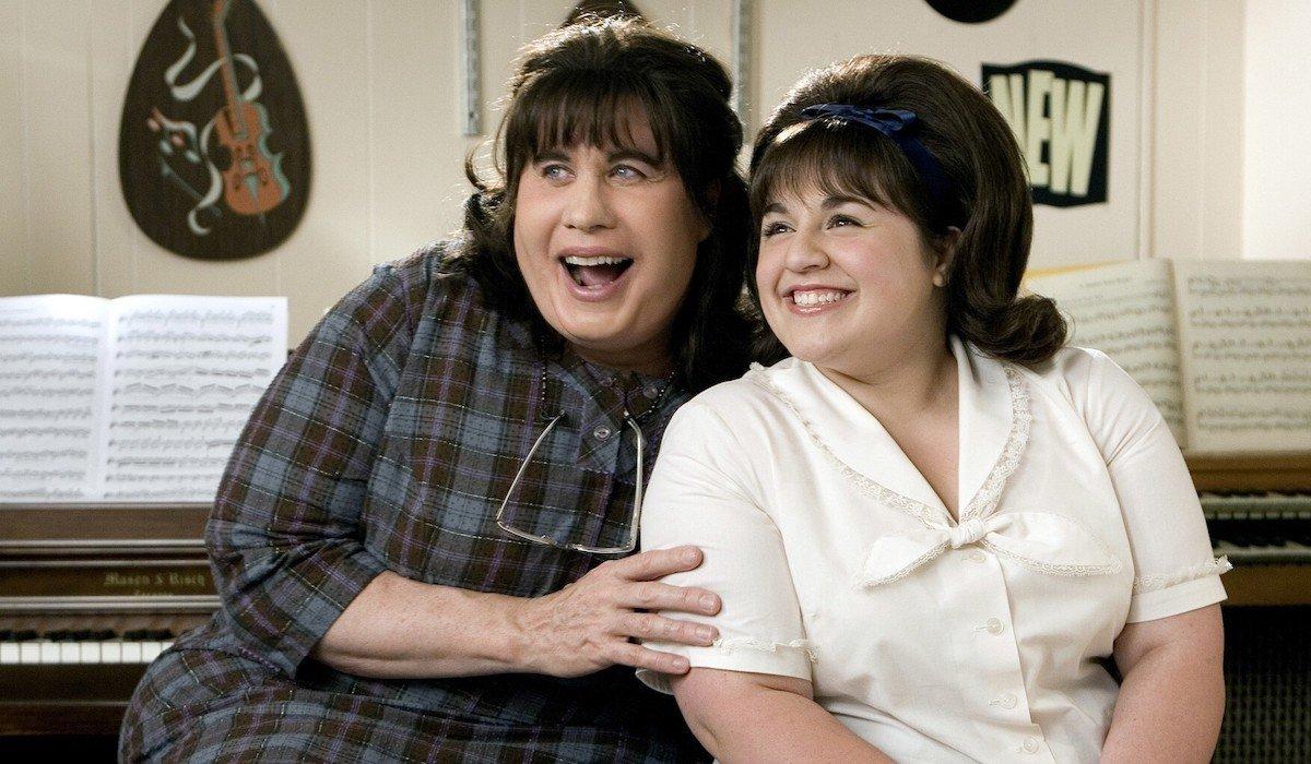 John Travolta and Nikki Blonsky in Hairspray