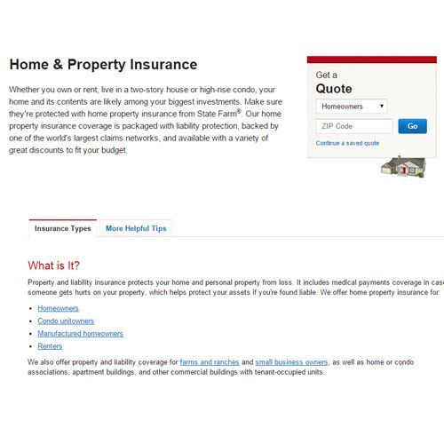 Renters Insurance Quote | State Farm Renters Insurance Review Pros And Cons Top