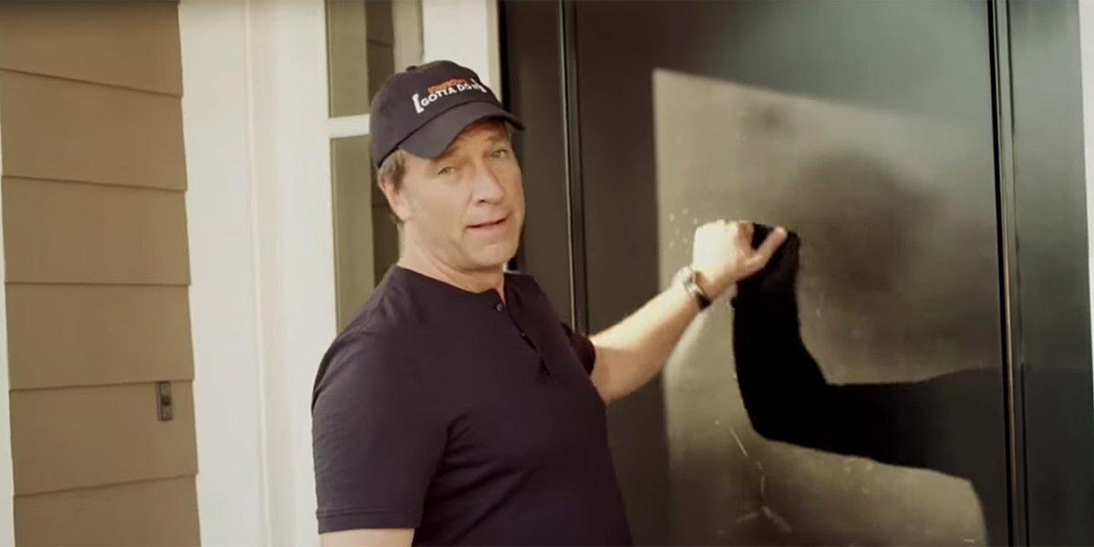Dirty Jobs host Mike Rowe in trailer screenshot for CNN