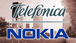 Nokia and Telefonica logos.