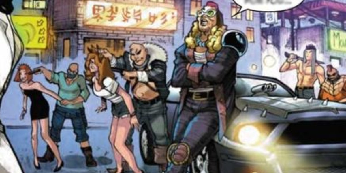Lowtown lowlives of Madripoor