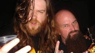 John Doran and Kerry King from Slayer