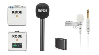 Rode Wireless GO microphone now comes in white (and there's a stick mic too)